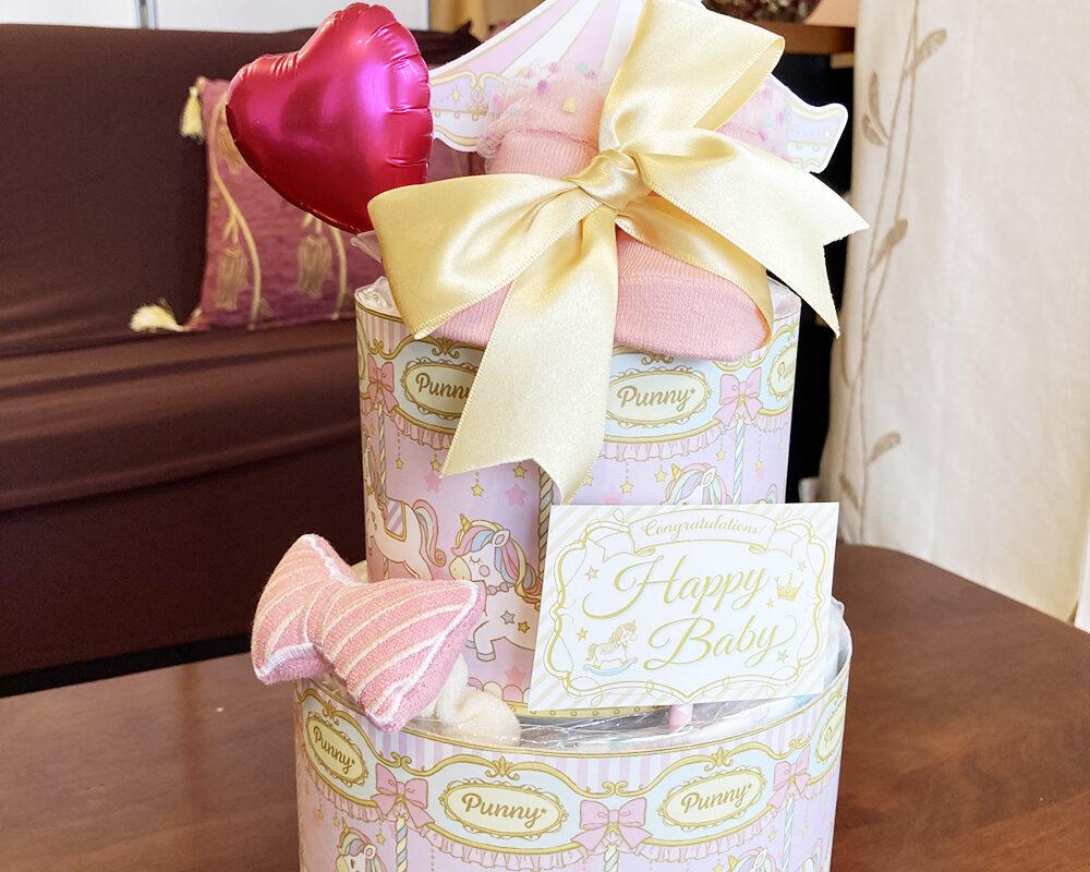 http://出産祝いに人気のギフト「おむつケーキ」センスのいい選び方