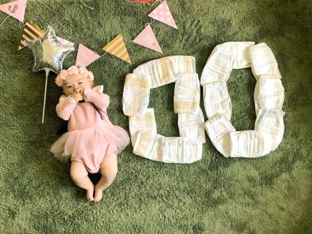 http://出産祝いのプレゼントにもおすすめ!おむつケーキの作り方